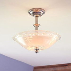 """Small Traditional Ceiling Lighting - 6"""" to 12"""" Dia"""