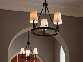 "Small Traditional Chandeliers - 10"" to 16"""
