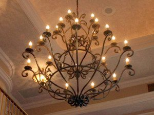 Transitional Chandelier