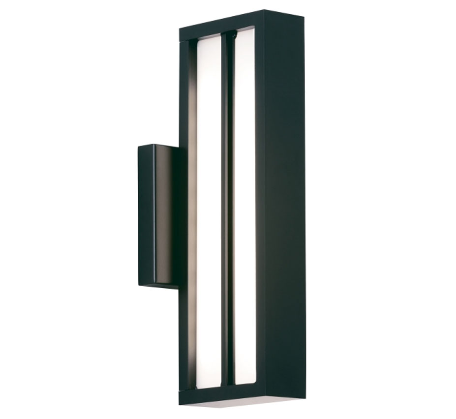 Aviva 14 contemporary outdoor wall light