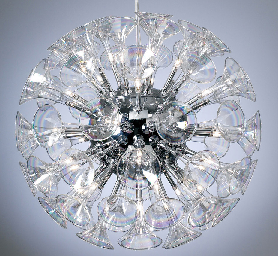 Martini Collection 36 Light Large Contemporary Chandelier