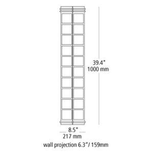Modular-New-York-Large-Outdoor-Contemporary-LBLPW530-line-drawing