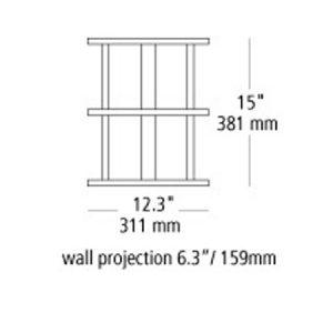 Modular-Tubular-Small-Outdoor-Contemporary-LBLPW120-line-drawing