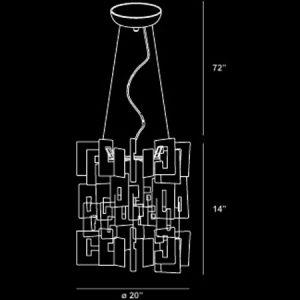 Numero-8-Light-Medium-Contemporary-Pendant-EUR14551017-line-drawing