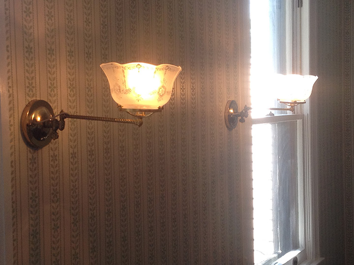 Sagamore Hill National Historic Site Wall Sconce