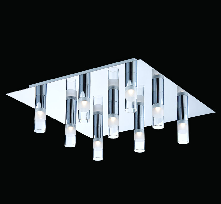 Rectangular Flush Mount Ceiling Light Cool Medium Size Of