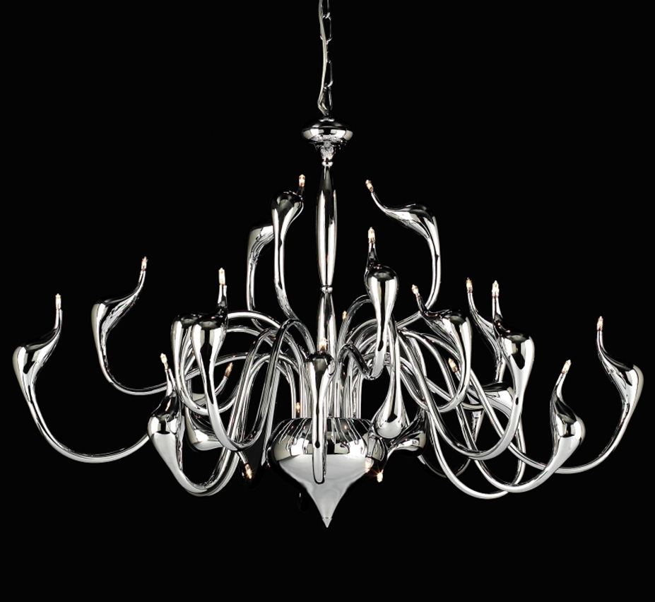 Swan collection 24 light large contemporary chandelier grand light swan collection 24 light large contemporary chandelier arubaitofo Image collections