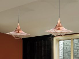 "Small Contemporary & Modern Pendant Lighting - 3"" to 10"" Dia"