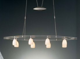 Contemporary Linear Chandeliers
