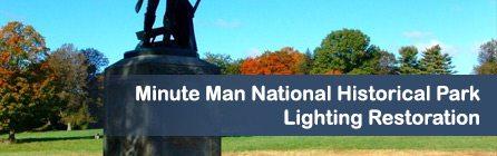 minute-man-lighting-restoration-project