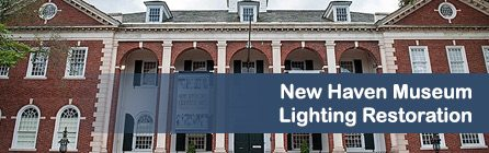 new-haven-museum-lighting-restoration-project