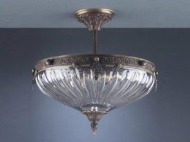 "Large Traditional Ceiling Lighting - 17"" to 22"" Dia"