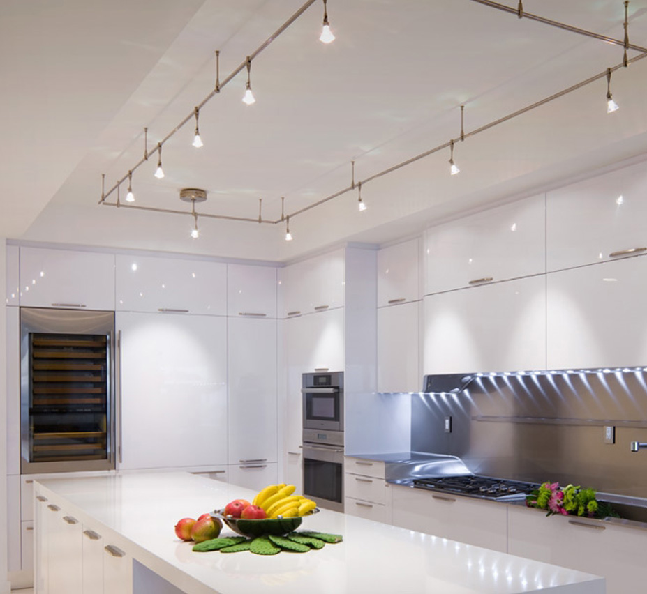 image of kitchen ceiling fixture lighting