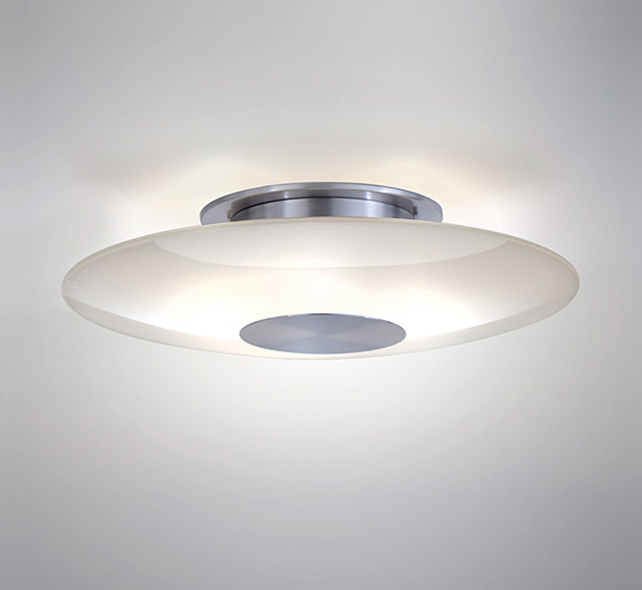 Large Contemporary Ceiling Lights : Halogen dia large contemporary semi flush ceiling