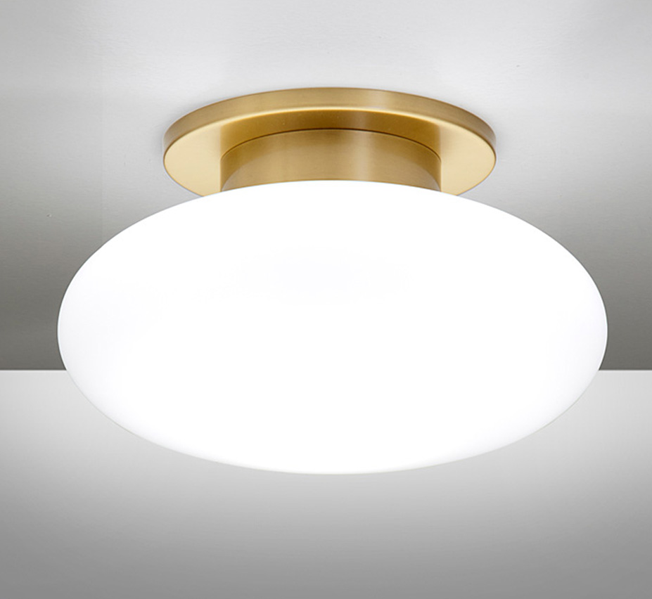Halogen 7 5 Dia Small Contemporary Flush Mount Ceiling Light