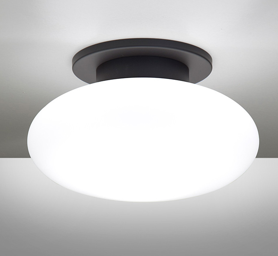 Halogen 7.5″ Dia Small Contemporary Flush Mount Ceiling Light ...