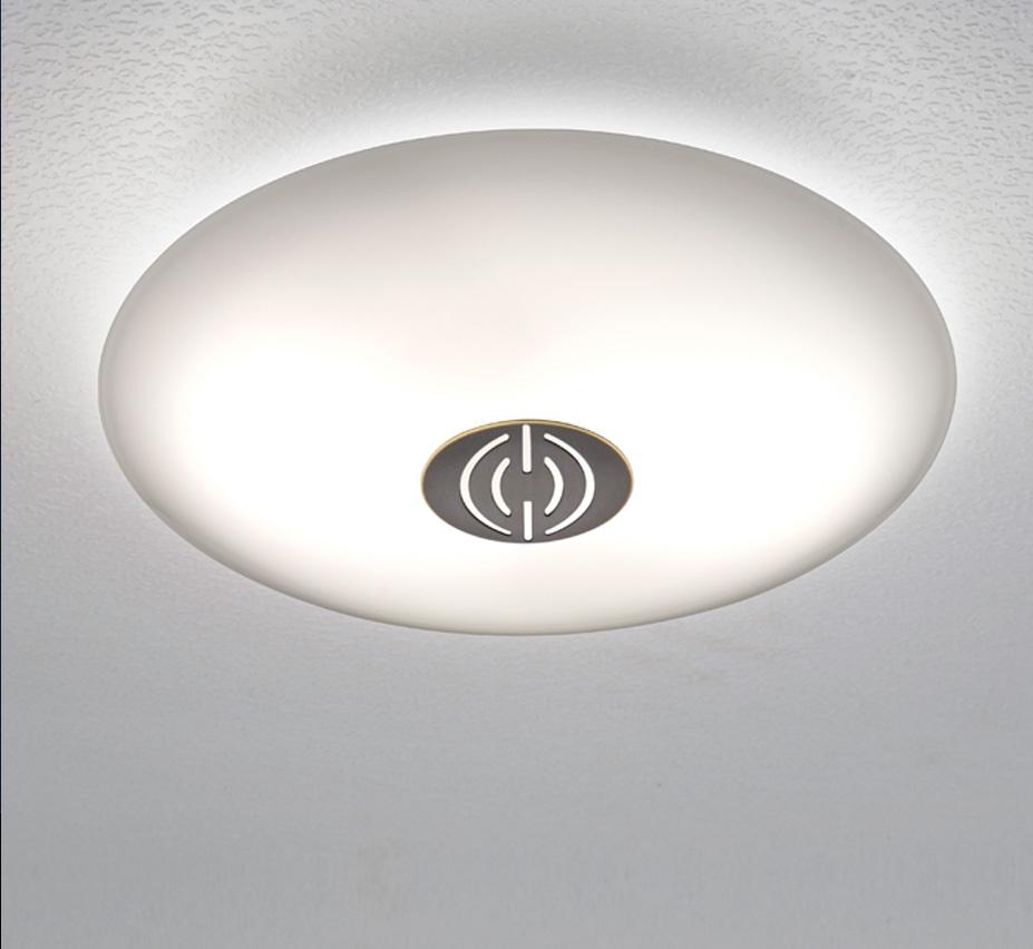 Dek 9 5″ dia small contemporary flush mount ceiling light grand light