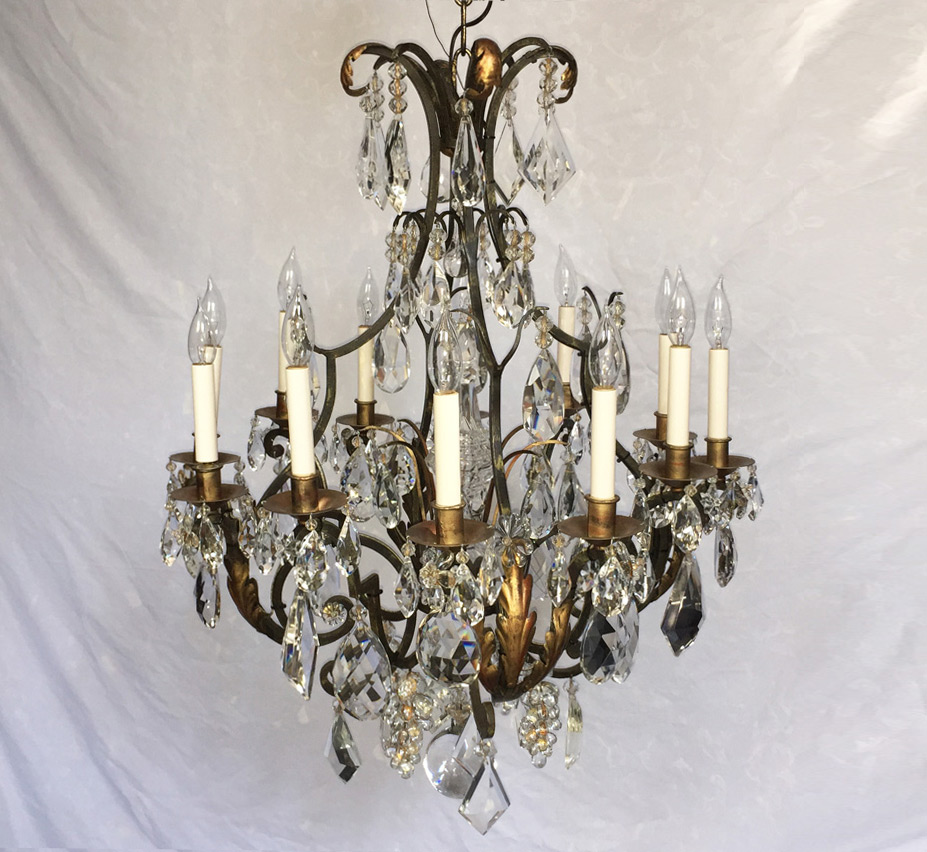 ... Large Vintage Chandelier. facebook-share ... - Versailles 12 Light Large Vintage Chandelier Grand Light