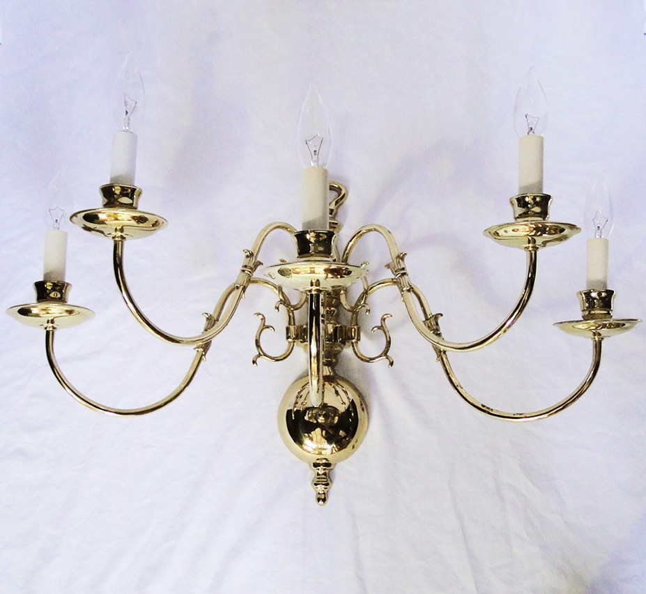 Very Large Wall Sconces : Old Virginia Extra Large Vintage Wall Sconce Grand Light