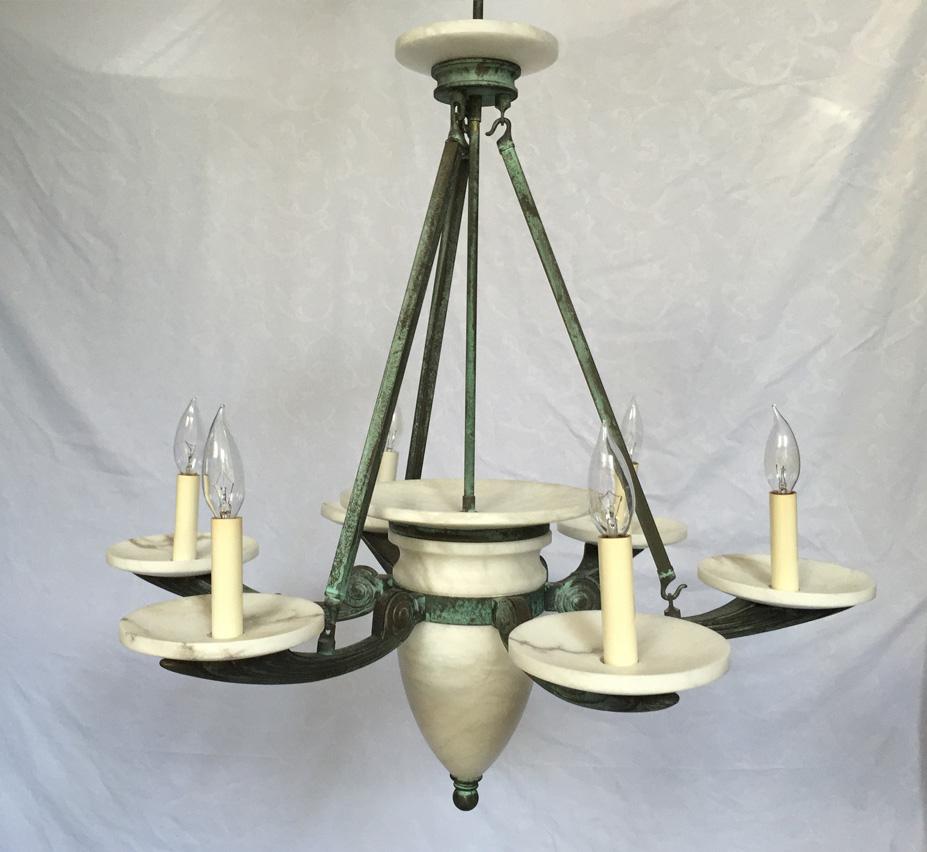 ... Large Vintage Chandelier. facebook-share ... - Millenia Series 6 Light Large Vintage Chandelier Grand Light