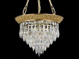 brass u0026 crystal pendant lighting