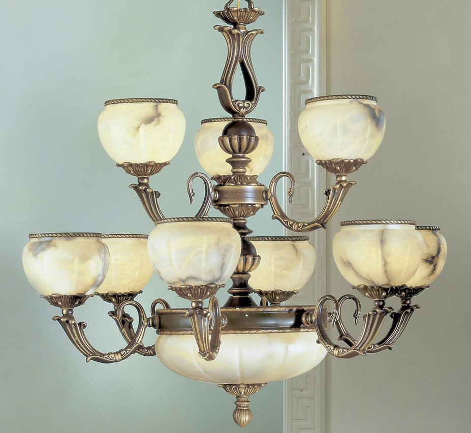 Luxurious high quality alabaster chandeliers alexandria i collection 12 light large alabaster chandelier aloadofball Image collections