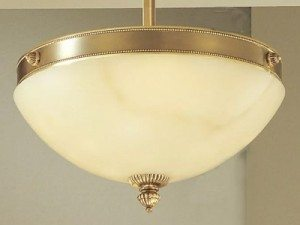 Alabaster Ceiling Lighting