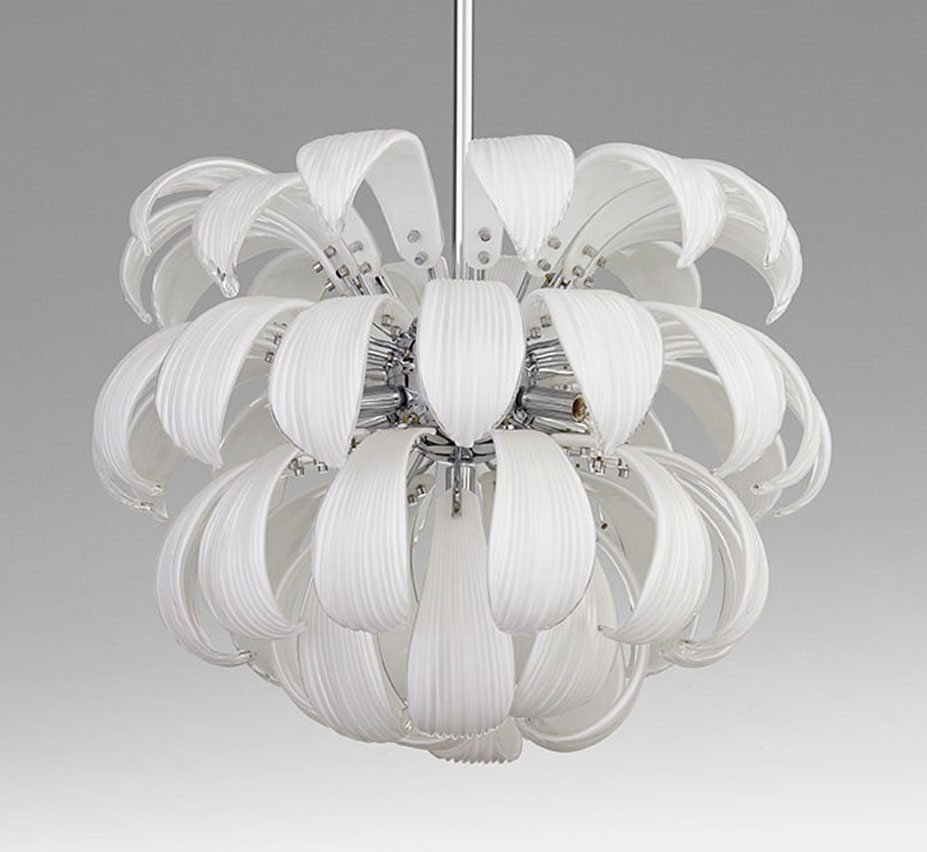 Day Lily 24 Dia Large Gl Pendant Light