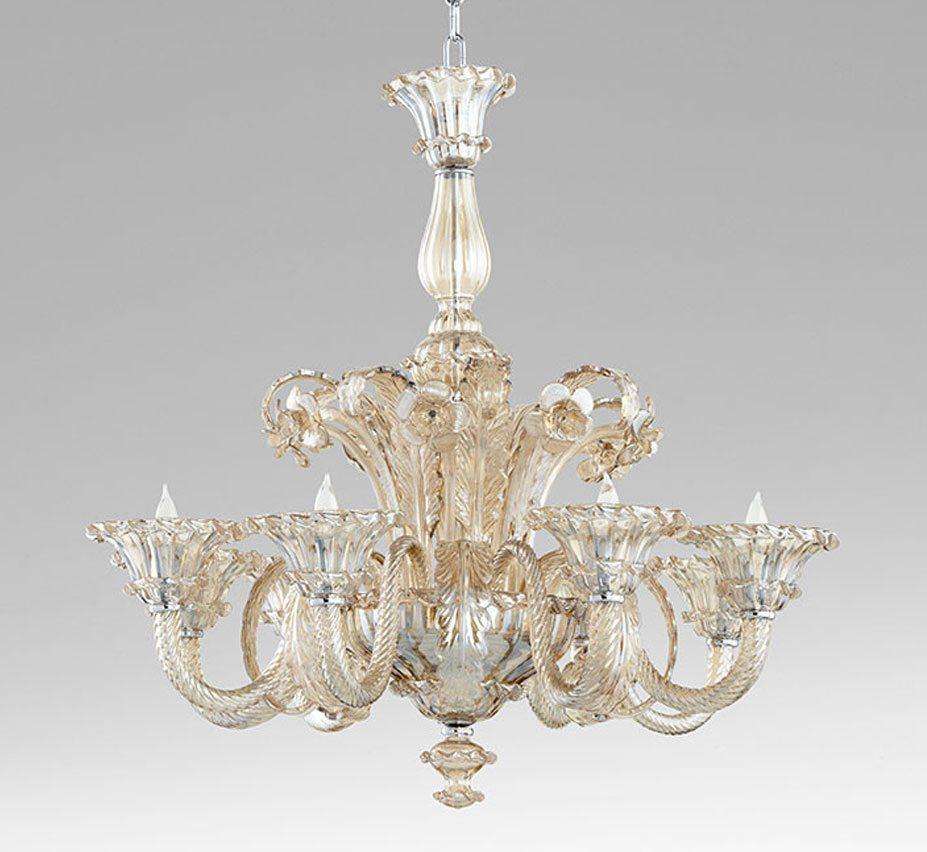 Lascala 8 light extra large glass chandelier grand light lascala 8 light extra large glass chandelier facebook share aloadofball Images