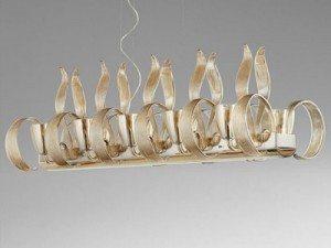 Glass Linear Chandeliers