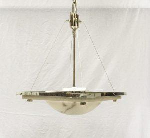 High quality alabaster pendant lighting alacast 165 dia medium vintage pendant light aloadofball Choice Image