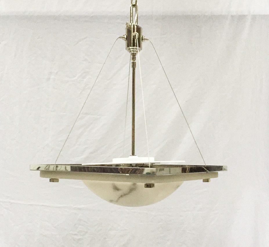 High quality alabaster pendant lighting alacast 165 dia medium vintage pendant light aloadofball Images
