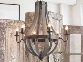 Wood & Iron Chandeliers