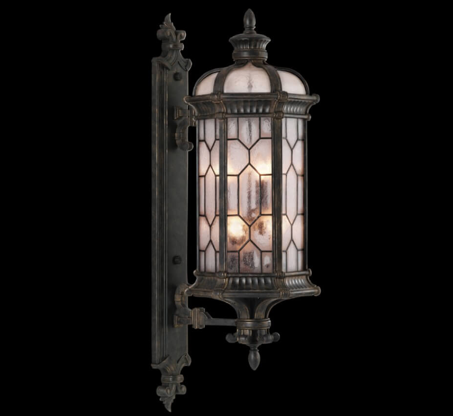 Devonshire 44 H Traditional Outdoor Wall Light Grand Light