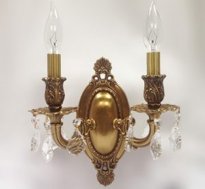 Canton 9 W Medium Vintage Wall Sconce