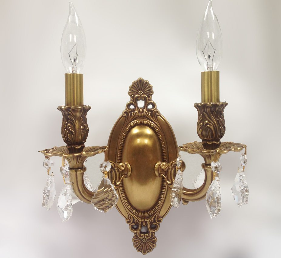 Wall Sconces Vintage : Canton 9? W Medium Vintage Wall Sconce Grand Light