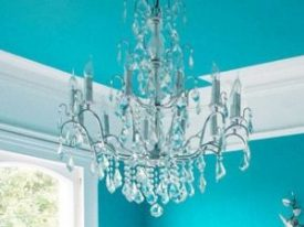 "Small Crystal Chandeliers - 10"" to 16"""