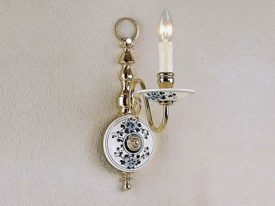 "Small Traditional Wall Sconces - 3"" to 8"" W"