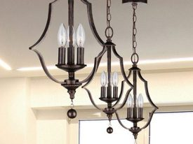 "Small Transitional Chandeliers - 10"" to 16"""