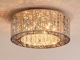 "Large Transitional Ceiling Lighting - 17"" to 22"" Dia"