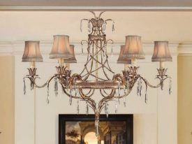 "Large Transitional Chandeliers - 24"" to 42"""