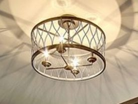 "Medium Transitional Ceiling Lighting - 13"" to 16"" Dia"
