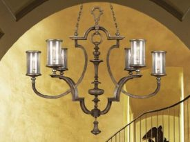 "Medium Transitional Chandeliers - 17"" to 23"""