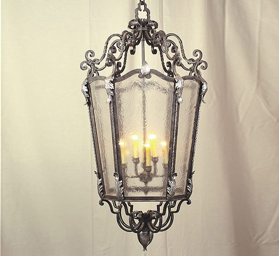 Bavarian 22 Dia Large Traditional Pendant Light