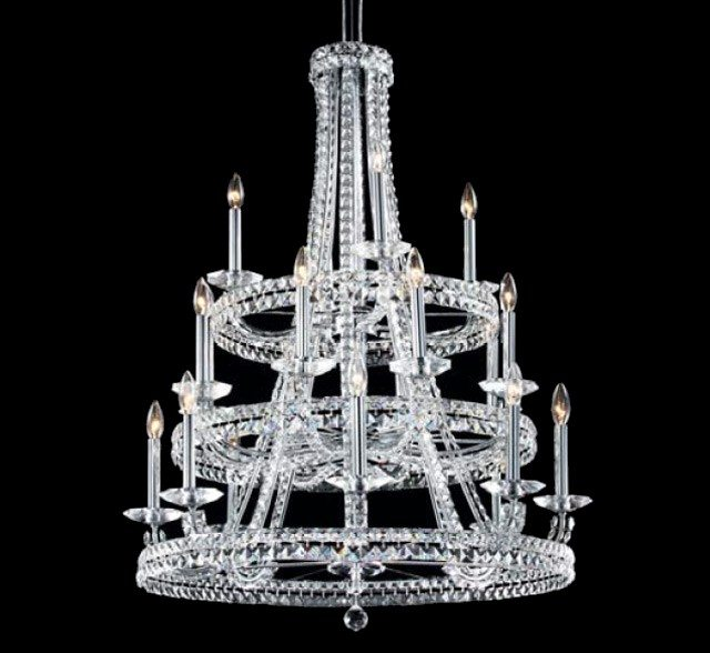 Large crystal chandeliers ashton 20 light large crystal chandelier aloadofball Image collections