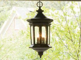 Traditional Outdoor Hanging Lighting