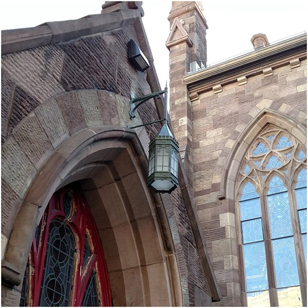 cathedral-historic-outdoor-lantern-replication-installed