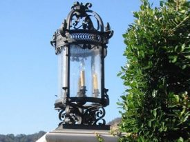 Transitional Outdoor Column Mount Lighting