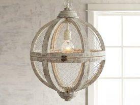 Wood & Iron Pendant Lighting