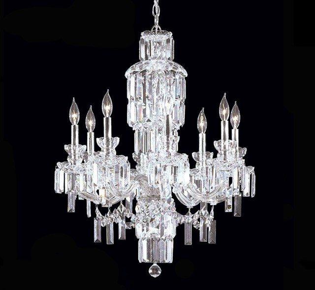 Buckingham 8 light large crystal chandelier grand light buckingham 8 light large crystal chandelier aloadofball Choice Image